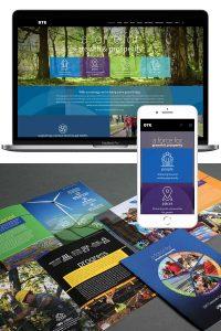 DTE WordPress Website and Marketing Design