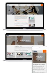 MMS Academy WordPress Website
